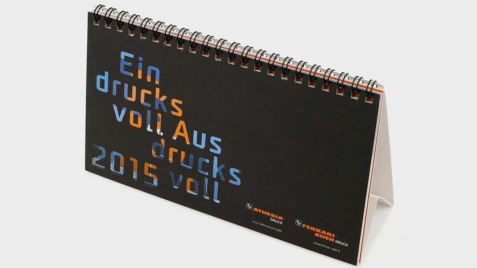 Tischkalender - Athesia Druck & Ferrari-Auer Druck