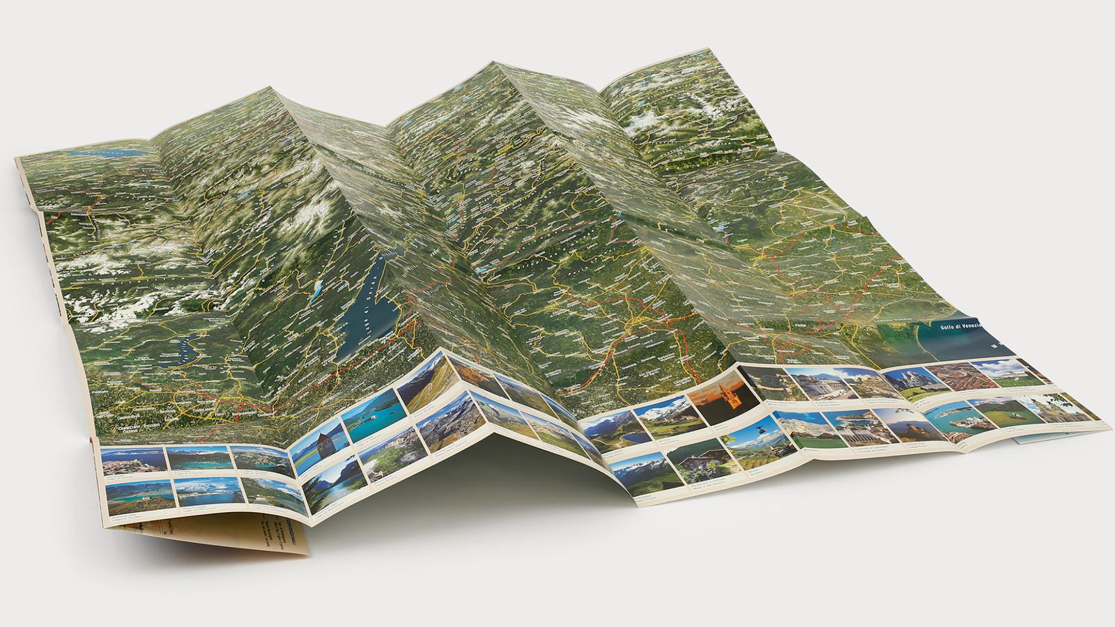 3D Panorama- & Straßenkarte - Athesia-Tappeiner Verlag
