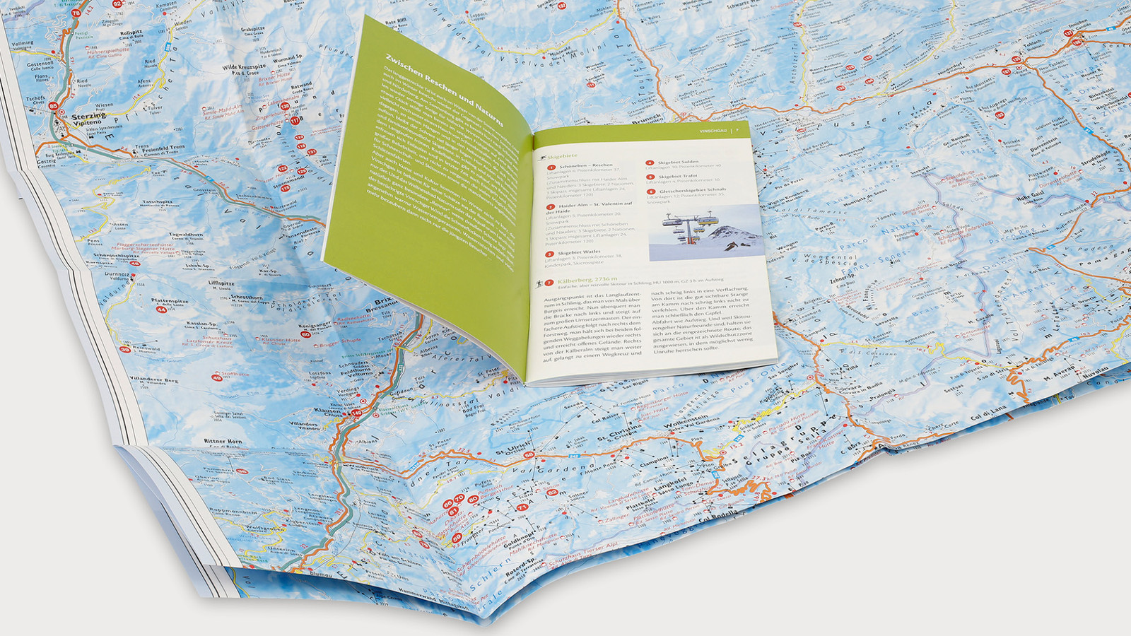 Winter-Freizeitkarte - Athesia-Tappeiner Verlag