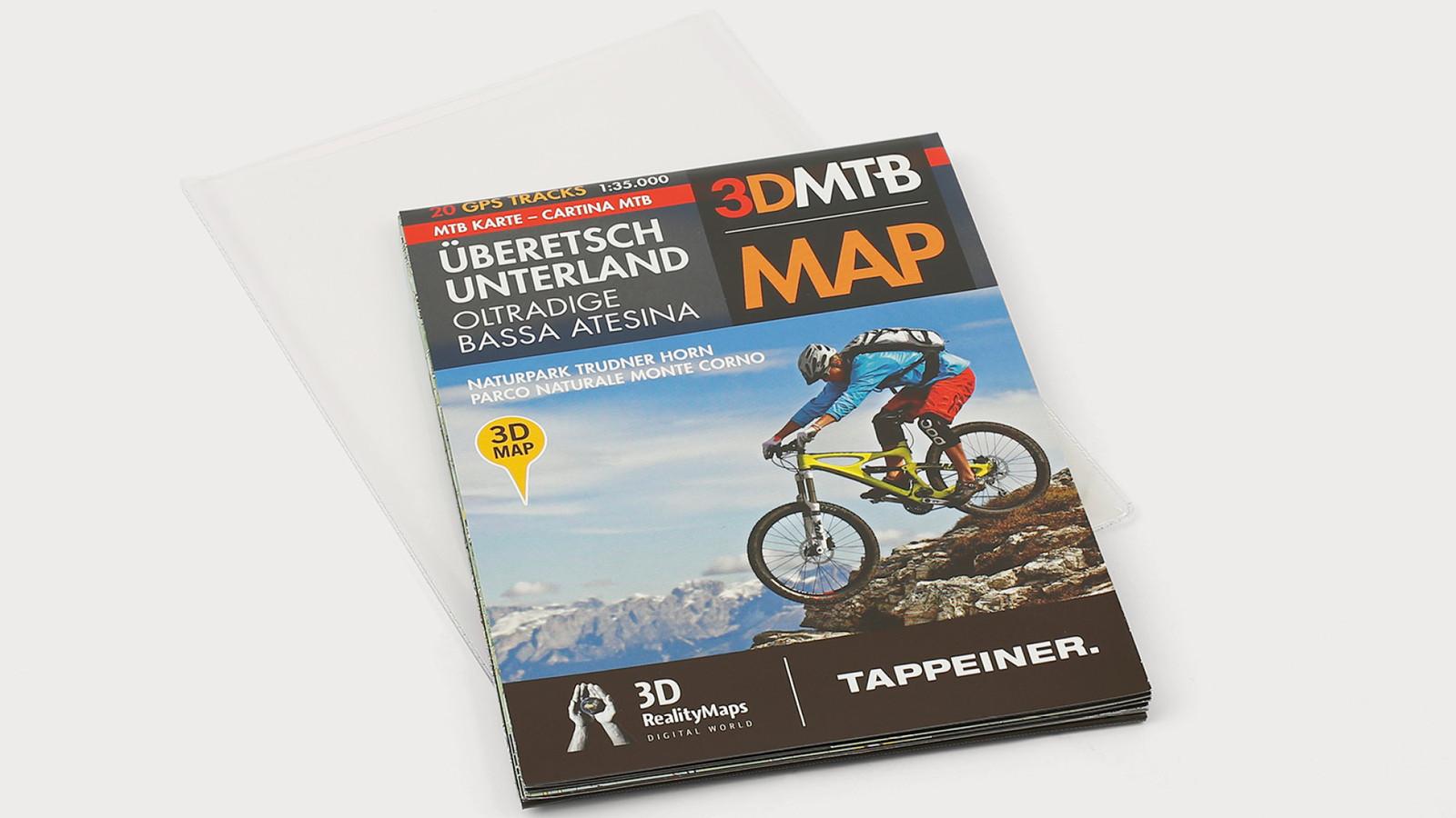Mountainbike-Karte - Athesia-Tappeiner Verlag