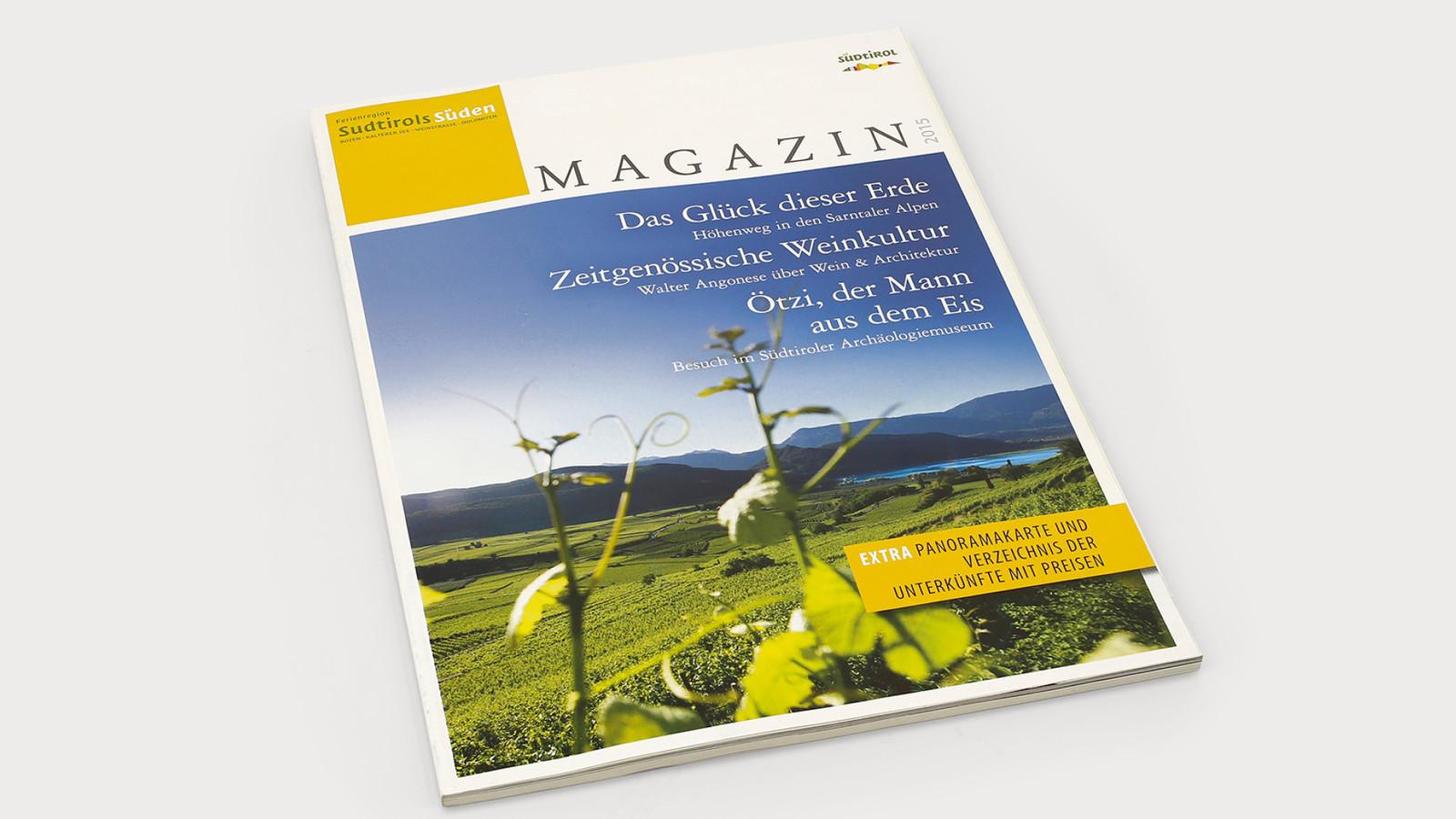 Magazin - Tourismusverband Südtirol